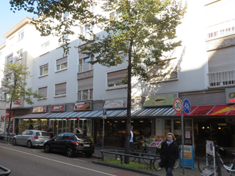 Residential &amp; commercial<br /> building, Mannheim
