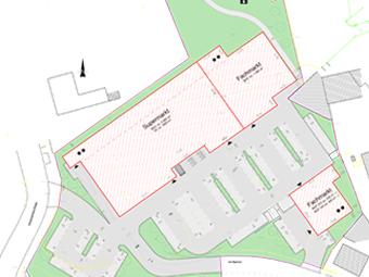 Fachmarktzentrum, Hohenstein-Ernstthal